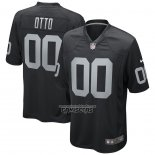 Camiseta NFL Game Las Vegas Raiders Jim Otto Retired Negro