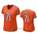 Camiseta NFL Game Mujer Chicago Bears Arlington Hambright Alterno Naranja