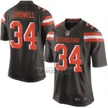 Camiseta NFL Game Nino Cleveland Browns Crowell Marron
