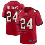 Camiseta NFL Game Tampa Bay Buccaneers Cadillac Williams Retired Rojo