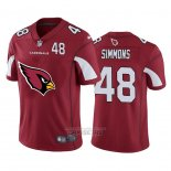Camiseta NFL Limited Arizona Cardinals Simmons Big Logo Number Rojo