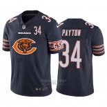 Camiseta NFL Limited Chicago Bears Payton Big Logo Number Azul