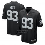 Camiseta NFL Game Las Vegas Raiders Daniel Ross Negro