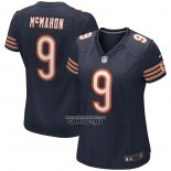 Camiseta NFL Game Mujer Chicago Bears Jim Mcmahon Retired Azul