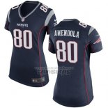 Camiseta NFL Game Mujer New England Patriots Amendola Negro