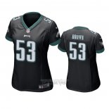 Camiseta NFL Game Mujer Philadelphia Eagles Jatavis Brown Negro