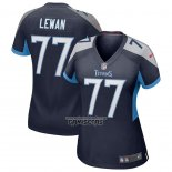 Camiseta NFL Game Mujer Tennessee Titans Taylor Lewan Azul