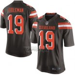 Camiseta NFL Game Nino Cleveland Browns Coleman Marron