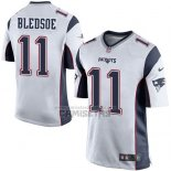Camiseta NFL Game Nino New England Patriots Bledsoe Blanco