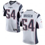 Camiseta NFL Game Nino New England Patriots Bruschi Blanco