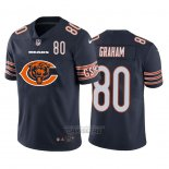 Camiseta NFL Limited Chicago Bears Graham Big Logo Number Azul