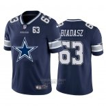 Camiseta NFL Limited Dallas Cowboys Biadasz Big Logo Number Azul