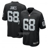 Camiseta NFL Game Las Vegas Raiders Andre James Negro