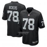 Camiseta NFL Game Las Vegas Raiders Kendal Vickers Negro