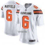 Camiseta NFL Game Nino Cleveland Browns Baker Mayfield Blanco