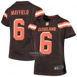 Camiseta NFL Game Nino Cleveland Browns Baker Mayfield Marron 1