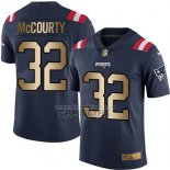 Camiseta NFL Gold Legend New England Patriots Mccourty Profundo Azul