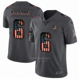 Camiseta NFL Limited Cleveland Browns Mayfield Retro Flag Negro
