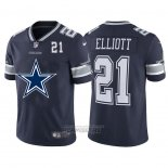 Camiseta NFL Limited Dallas Cowboys Elliott Big Logo Number Azul