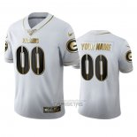 Camiseta NFL Limited Green Bay Packers Personalizada Golden Edition Blanco
