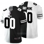 Camiseta NFL Limited Green Bay Packers Personalizada White Black Split