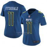 Camiseta NFL Mujer Pro Bowl NFC Fitzgerald 2017 Azul