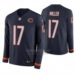 Camiseta NFL Therma Manga Larga Chicago Bears Anthony Miller Azul