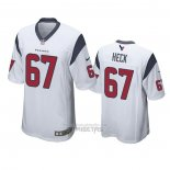 Camiseta NFL Game Houston Texans Charlie Heck Blanco