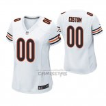 Camiseta NFL Game Mujer Chicago Bears Custom Blanco