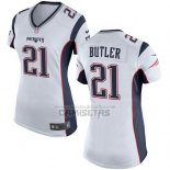 Camiseta NFL Game Mujer New England Patriots Butler Blanco