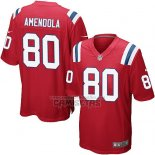 Camiseta NFL Game Nino New England Patriots Amendola Rojo