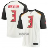 Camiseta NFL Game Tampa Bay Buccaneers Jameis Winston Blanco