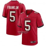Camiseta NFL Game Tampa Bay Buccaneers John Franklin Rojo