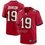 Camiseta NFL Game Tampa Bay Buccaneers Keyshawn Johnson Retired Rojo