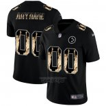 Camiseta NFL Limited Pittsburgh Steelers Personalizada Statue of Liberty Fashion Negro2