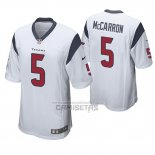 Camiseta NFL Game Houston Texans Aj Mccarron Blanco