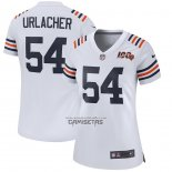 Camiseta NFL Game Mujer Chicago Bears Brian Urlacher 2019 Alterno Classic Retired Blanco