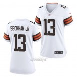 Camiseta NFL Game Mujer Chicago Bears Odell Beckham Jr Blanco