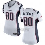 Camiseta NFL Game Mujer New England Patriots Amendola Blanco