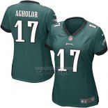 Camiseta NFL Game Mujer Philadelphia Eagles Agholor Verde