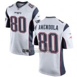 Camiseta NFL Game Nino New England Patriots Amendola Blanco