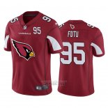 Camiseta NFL Limited Arizona Cardinals Fotu Big Logo Number Rojo