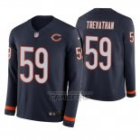 Camiseta NFL Therma Manga Larga Chicago Bears Danny Trevathan Azul
