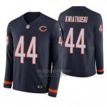 Camiseta NFL Therma Manga Larga Chicago Bears Nick Kwiatkoski Azul